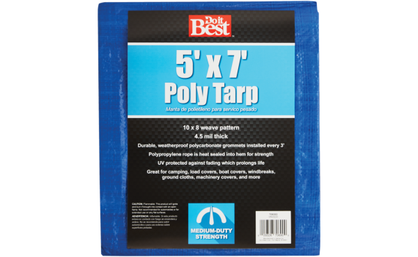 Do it Best Blue Woven Medium Duty Poly Tarp Assorted Sizes