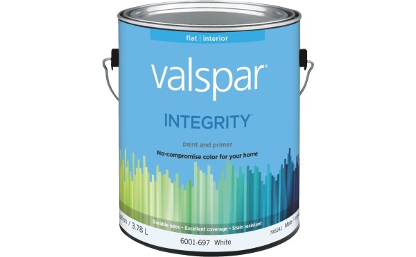 Valspar Integrity Latex Paint And Primer Interior Wall Paint, 1 Gal.
