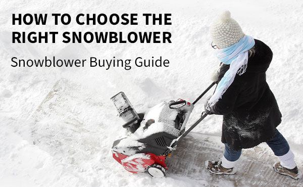 How to Choose the Right Snowblower