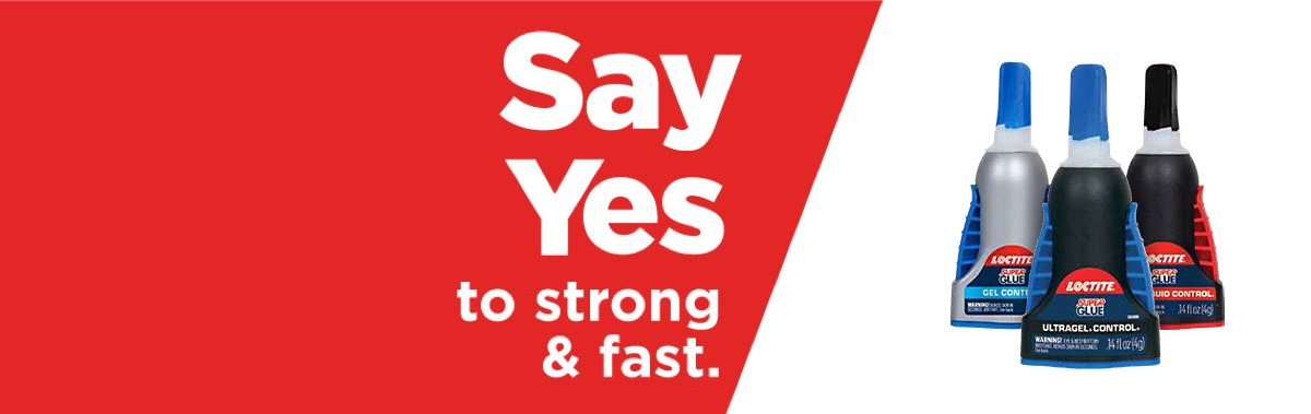 Say Yes to strong and fast.